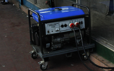 A generator. Picture: AFP