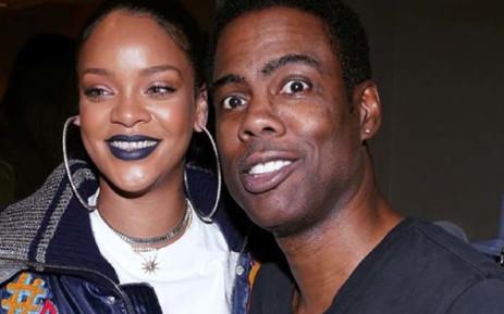 Rihanna and Chris Rock. Picture: @chrisrock/Instagram.