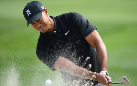 FILE: Tiger Woods will be making his second competitive appearance in four months at this week's British Open. Picture: AFP.