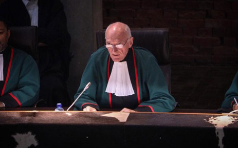 Justice Edwin Cameron in the Constitutional Court on 20 August 2019. Picture: Abigail Javier/EWN