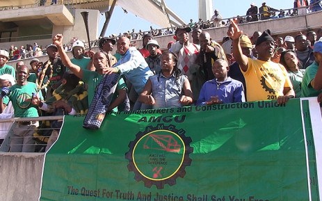 FILE: Thousands of miners flocked to the Royal Bafokeng stadium near Rustenburg on 23 June 2014 to accept a wage agreement from platinum producers which ended South Africa's costliest and longest strike. Picture: Reinart Toerien/EWN