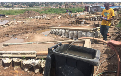 City of Johannesburg says illegal mining is causing severe water shortage in Johannesburg. Picture: Victor Magwedze/EWN.