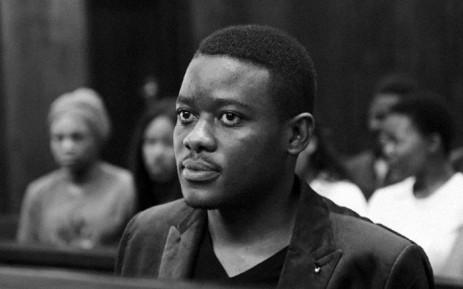FILE: Bonginkosi Khanyile in court. Picture: @BonginkosiKhanyile/Twitter.