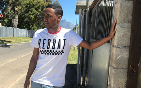 Matric student Chad Abrahams speaks to EWN on the challenges of living and learning in Bonteheuwel, one of the most dangerous suburbs of Cape Town. Picture: Lizell Persens/EWN