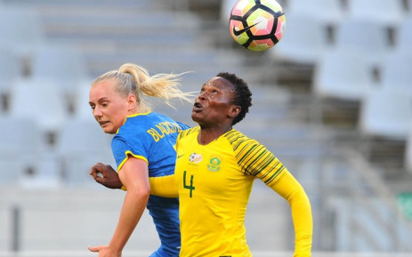 Banyana Banyana vs Swedan at the Cape Town Stadium on 22 January 2019. Picture: @SasolLeague/Twitter