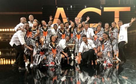 The Ndlovu Youth Choir. Picture: @ChoirAfrica/Twitter