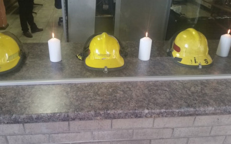 The three Johannesburg firefighters who died battling a blaze in the city centre will be honoured on 12 September. Picture: @CityofJoburgEMS/Twitter