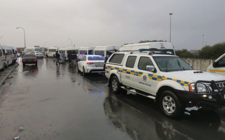 On 21 July 2021, officers conducted vehicle checks, searching for firearms and ensuring that those taxis that were operating were doing so legally in Cape Town. Picture: Supplied.