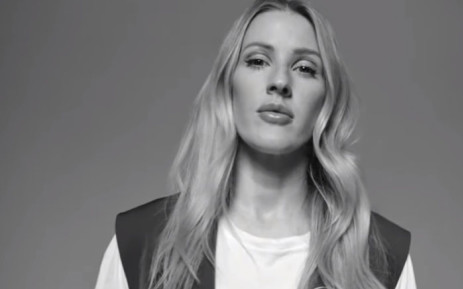 A YouTube screengrab shows Ellie Goulding feature in the video campaign launched by Extinction Rebellion on climate change.