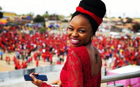 New EFF MP Naledi Chirwa. Picture: @NalediChirwa/Twitter