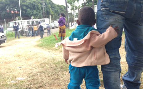 Thousands of foreign nationals have been housed at Greenwood Park refugee camp following violent attacks on their shops in Durban. Picture: Vumani Mkhize/EWN.