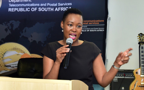 Communications Minister Stella Ndabeni-Abrahams. Picture: GCIS