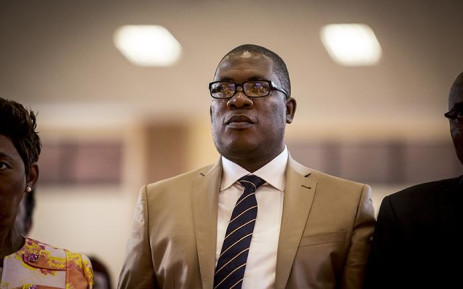 FILE: Gauteng Education MEC Panyaza Lesufi looks on during the announcement of the top provincial achievers in Daveyton on 5 January 2017. Picture: EWN.