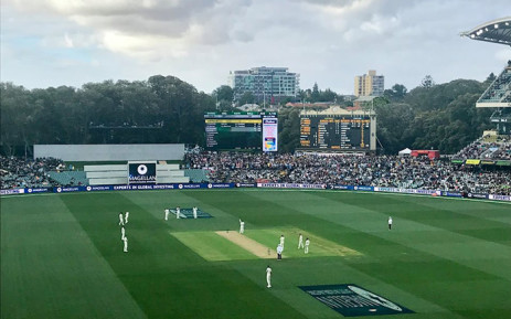 A view of Adelaide Oval in Australia during the day-night Ashes Test. Picture: facebook.com/pg/englandcricket.