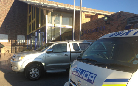 Alexandra Police Station in Johannesburg. Picture: EWN.