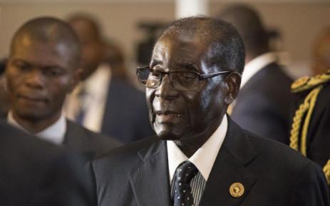 FILE: Zimbabwe's President Robert Mugabe. Picture: AFP