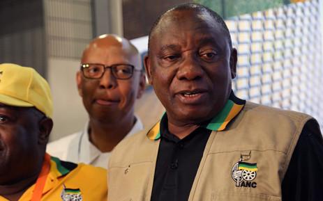 Deputy President Cyril Ramaphosa. Picture: Reinart Toerien/EWN