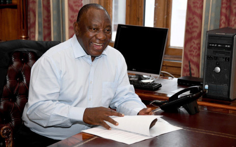 President Cyril Ramaphosa at his official residence, Genadendal in Cape Town, ahead of the 2020 State of the Nation Address. Picture: GCIS.