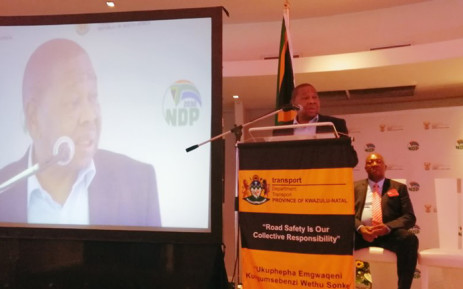 Transport Minister Blade Nzimande officially launched the 2019 Easter road safety campaign in KwaZulu-Natal on 8 April 2019. Picture: @DoTransport/Twitter