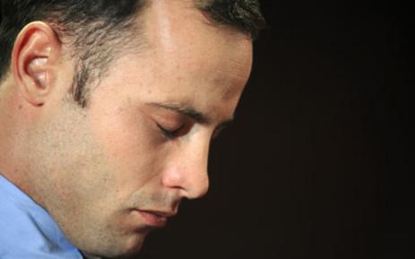 Murder accused Oscar Pistorius. Picture: AFP.