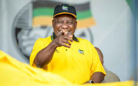 President Cyril Ramaphosa at the ANC's Northern Cape provincial manifesto launch on 2 February 2019 at Galeshewe Stadium. Picture: @MYANC/Twitter