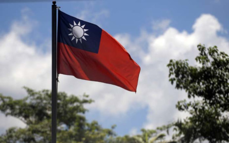 Taiwanese flag. Picture: AFP