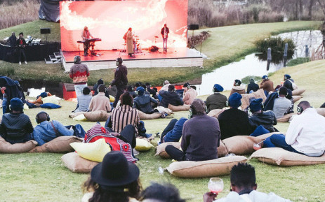 Attendees enjoy a silent concert on the first day Casa Corona on 21 June 2019. Picture: @CoronaAfrica/Twitter.