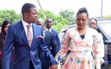 FILE: Shepherd Bushiri and his wife Mary. Picture: facebook.com/shepherdbushiriministries