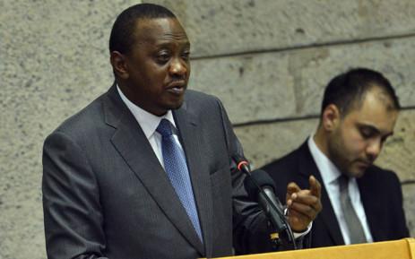 FILE: Kenyan President Uhuru Kenyatta signed the law on Wednesday. Picture: AFP.