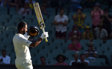 India's Cheteshwar Pujara. Picture: AFP