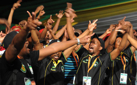 Delegates at the ANC's Mangaung Conference on 17 December 2012. Picture: GCIS