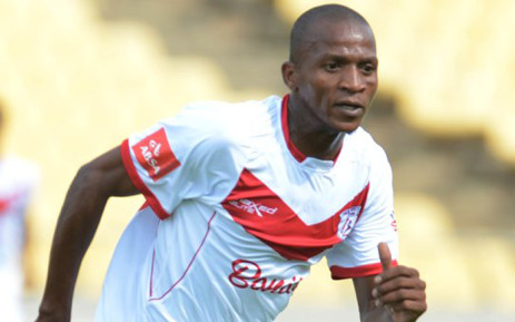 Free State Stars striker Richard Henyekane. Picture: Free State Stars website.
