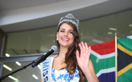 Miss World, Rolene Strauss. Picture: EWN