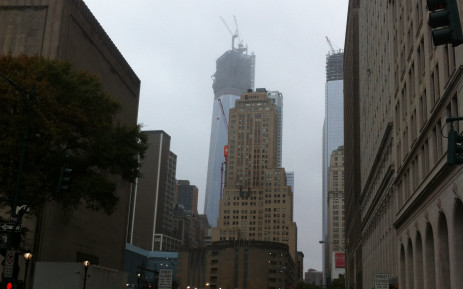 Quiet New York streets just before superstorm Sandy hit the east coast of the USA. Picture: Nadia Neophytou/EW