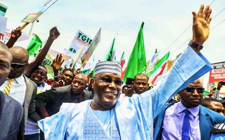 Nigeria's former vice-president Atiku Abubakar. Picture: Twitter/@atiku