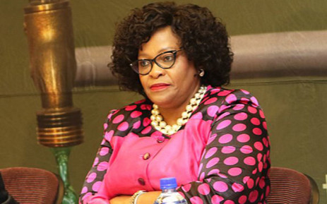 Minister of Water and Sanitation Nomvula Mokonyane. Picture: @DWS_RSA/Twitter