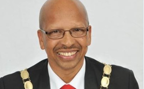 FILE: Late Overstrand Mayor Rudolph Smith. Picture: Twitter @OverstrandMuni.