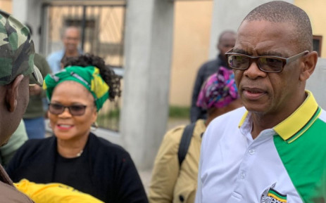 ANC SG Ace Magashule on his two-day electioneering campaign in Phillipi, Cape Town. Picture: @MyANC/Twitter