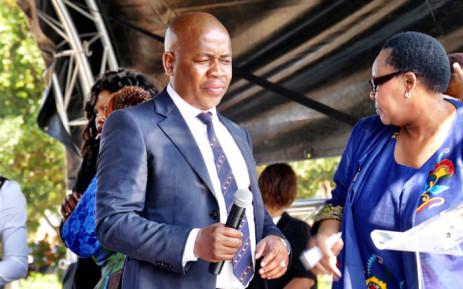 FILE: Ekurhuleni Mayor Mzwandile Masina. Picture: Twitter/@EMMInfo.