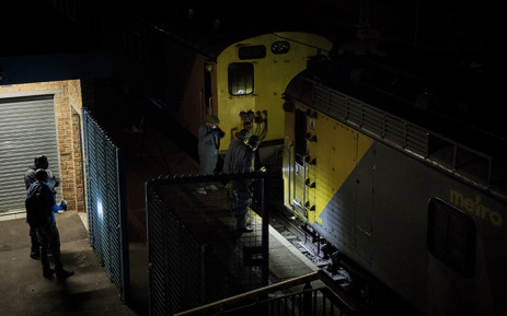 Two passenger trains collided at Van Riebeeck train station in Kempton Park, east of Johannesburg on 4 October 2018 leaving at least 320 people injured. Picture: Sethembiso Zulu/EWN