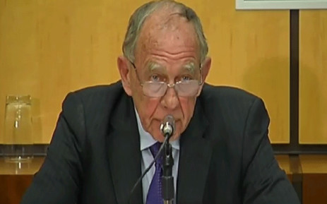 A YouTube screengrab of retired Judge Robert Nugent.