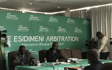 FILE: Retired deputy Chief Justice Dikgang Moseneke seen during the second day of the arbitration process into the Esidimeni tragedy. Picture: Masego Rahlaga/EWN