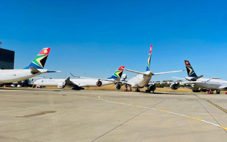 SAA aircraft. Picture: @flysaa_care/Twitter