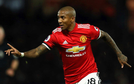 File: Manchester United's Ashley Young celebrates his second goal against Watford in the English Premier League on 28 November 2017. Picture: Facebook.