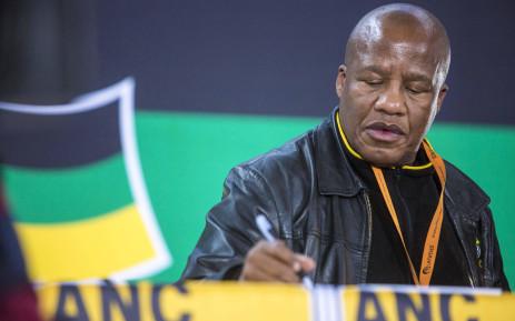 ANC chief whip Jackson Mthembu. Picture: Thomas Holder/EWN.