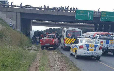 About 50 injured in Kempton Park bus accident