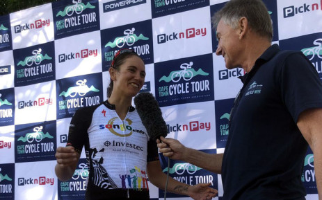 Cherise Willeit, the 2019  women's Cape Town Cycle Tour winner. Picture: EWNSport