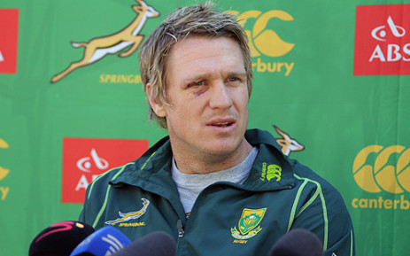 Scrumhalf, Fourie Du Preez last played for the Springboks in 2011.