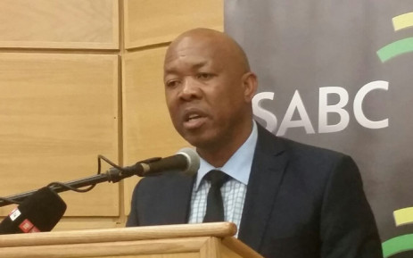 FILE: SABC's former CEO Frans Matlala. Picture: Stephen Grootes/EWN.