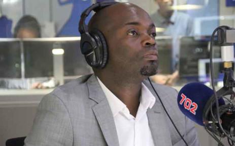FILE: DA Gauteng caucus leader Solly Msimanga. Picture: Talk Radio 702
